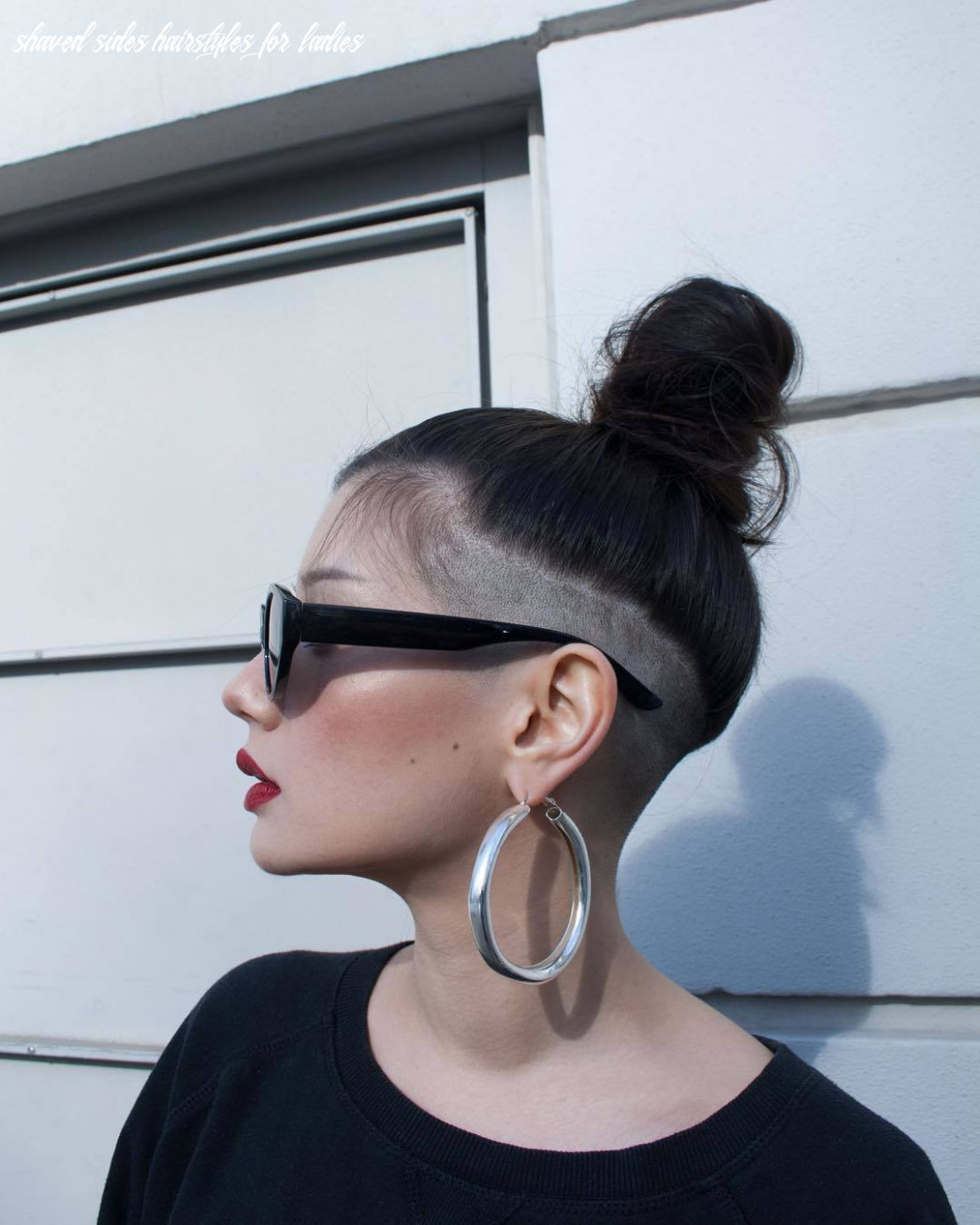 8 bold shaved hairstyles for women | shaved hair designs shaved sides hairstyles for ladies