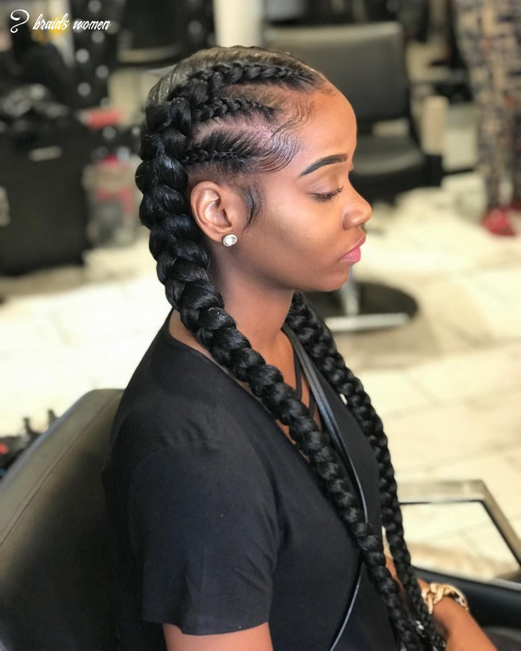 8 braids with a twist #tossed #tossedtresses #tossedbyteyanna