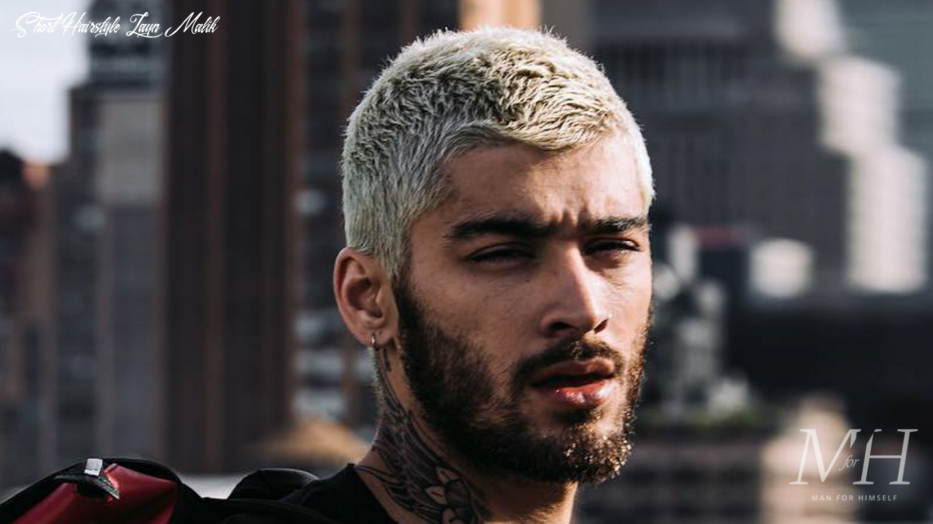 8 buzz cut hairstyles to try in 8 | man for himself short hairstyle zayn malik