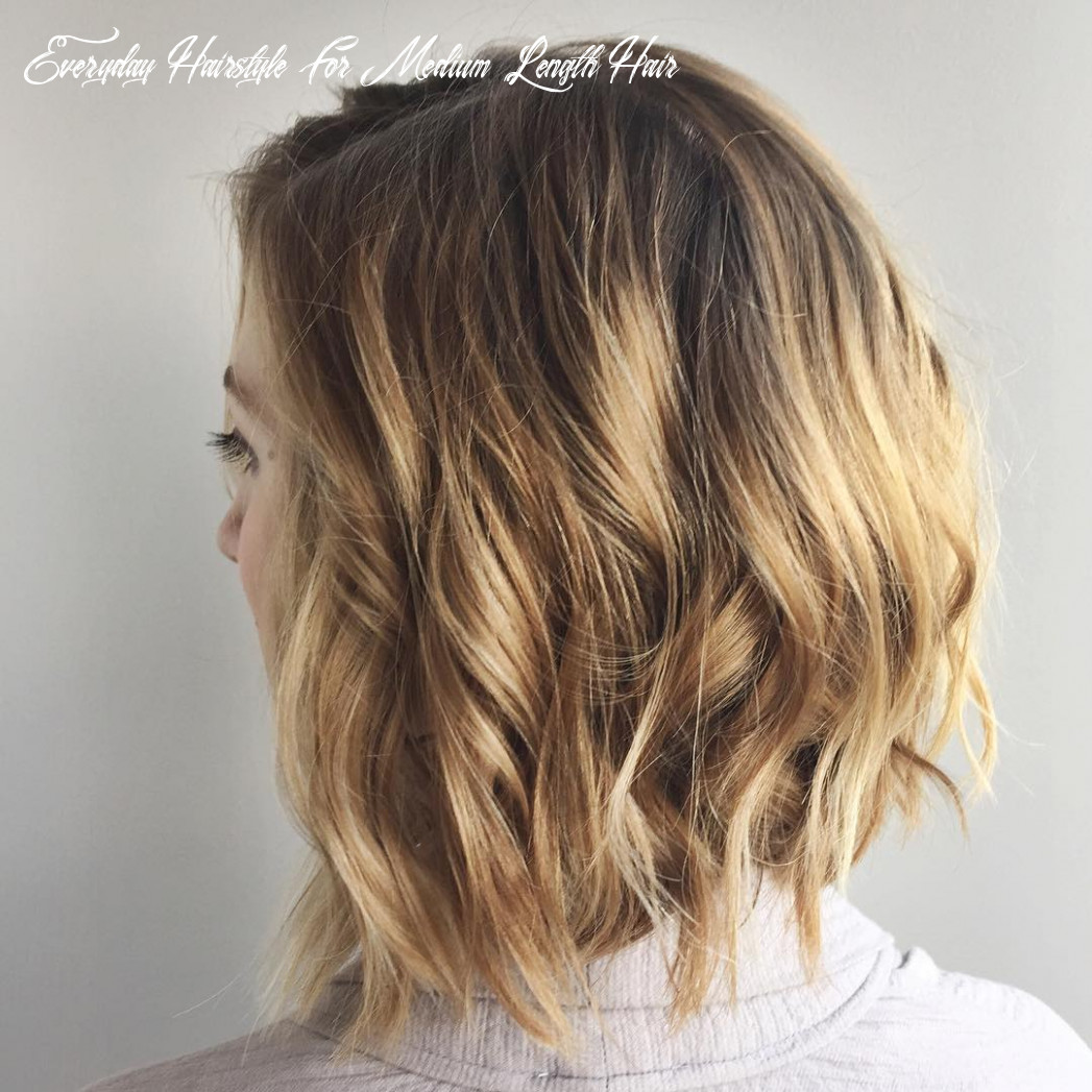 8 chic everyday hairstyles for shoulder length hair 8 everyday hairstyle for medium length hair