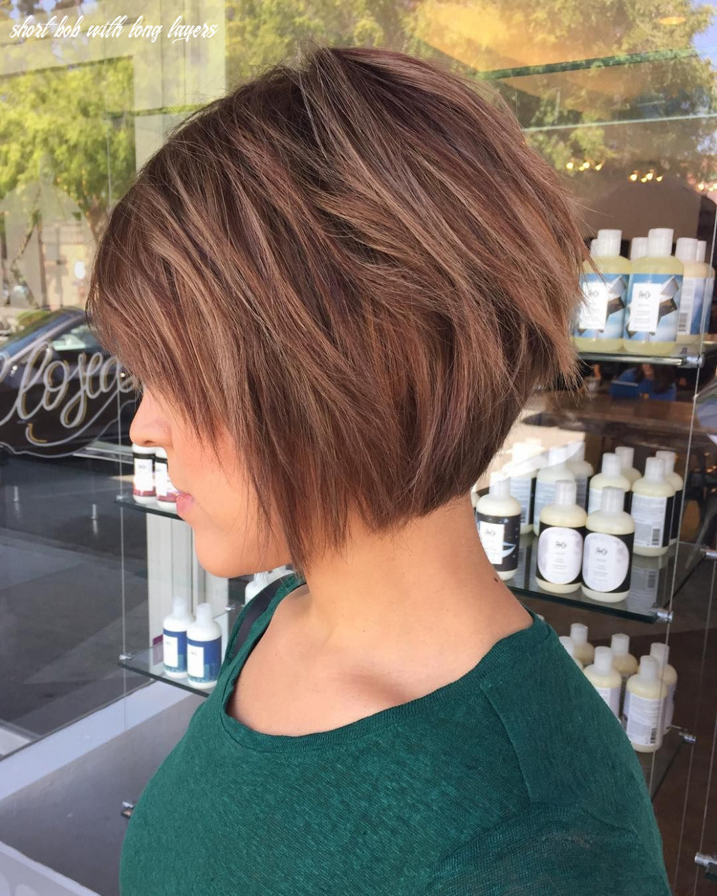 8 chic long and short layered bob haircuts — dazzle with layers