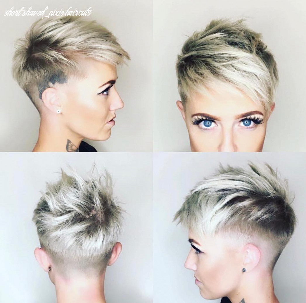 8 chic shaved haircuts for short hair 8 short shaved pixie haircuts