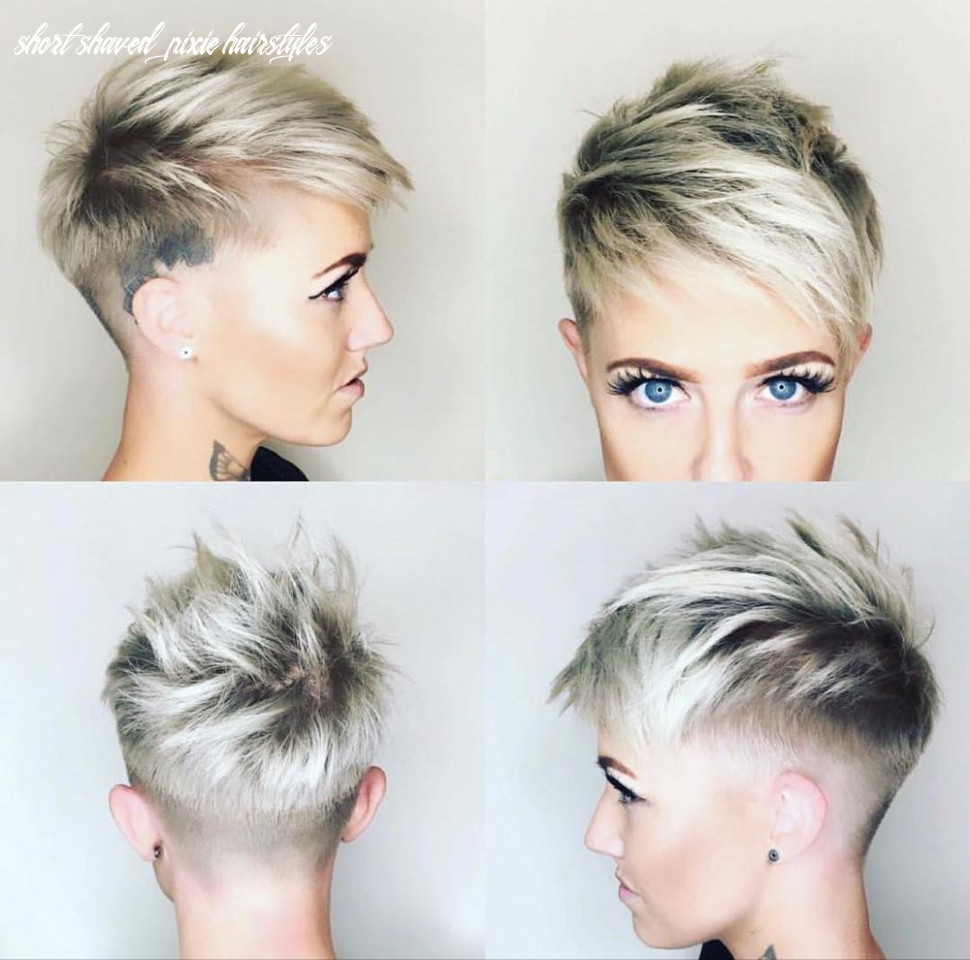 8 chic shaved haircuts for short hair 8 | short shaved