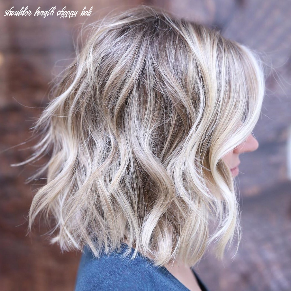 8 choppy bobs you have to see hair adviser shoulder length choppy bob