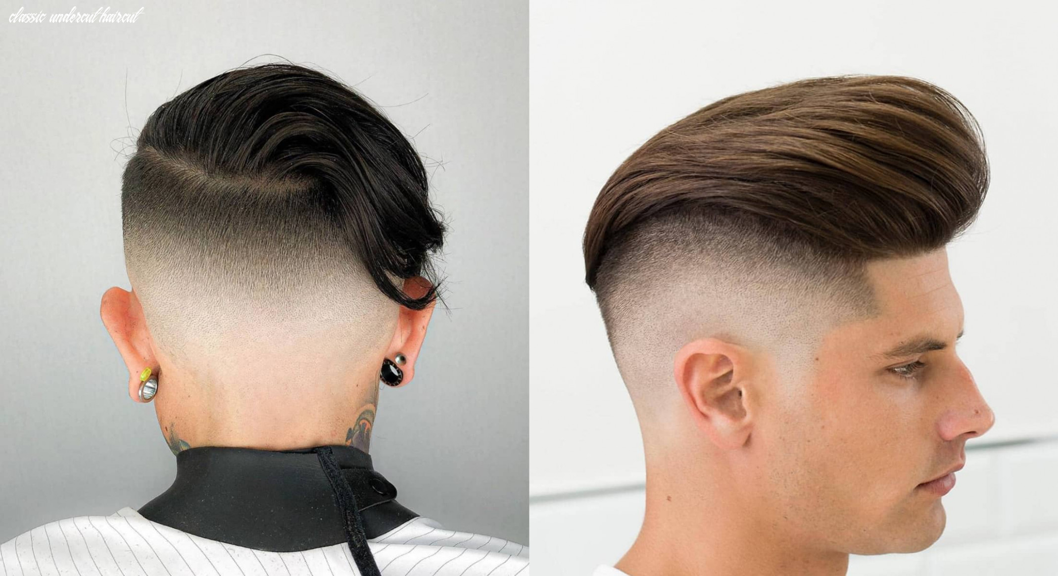 8 classic undercut hairstyles for men | stylesrant classic undercut haircut