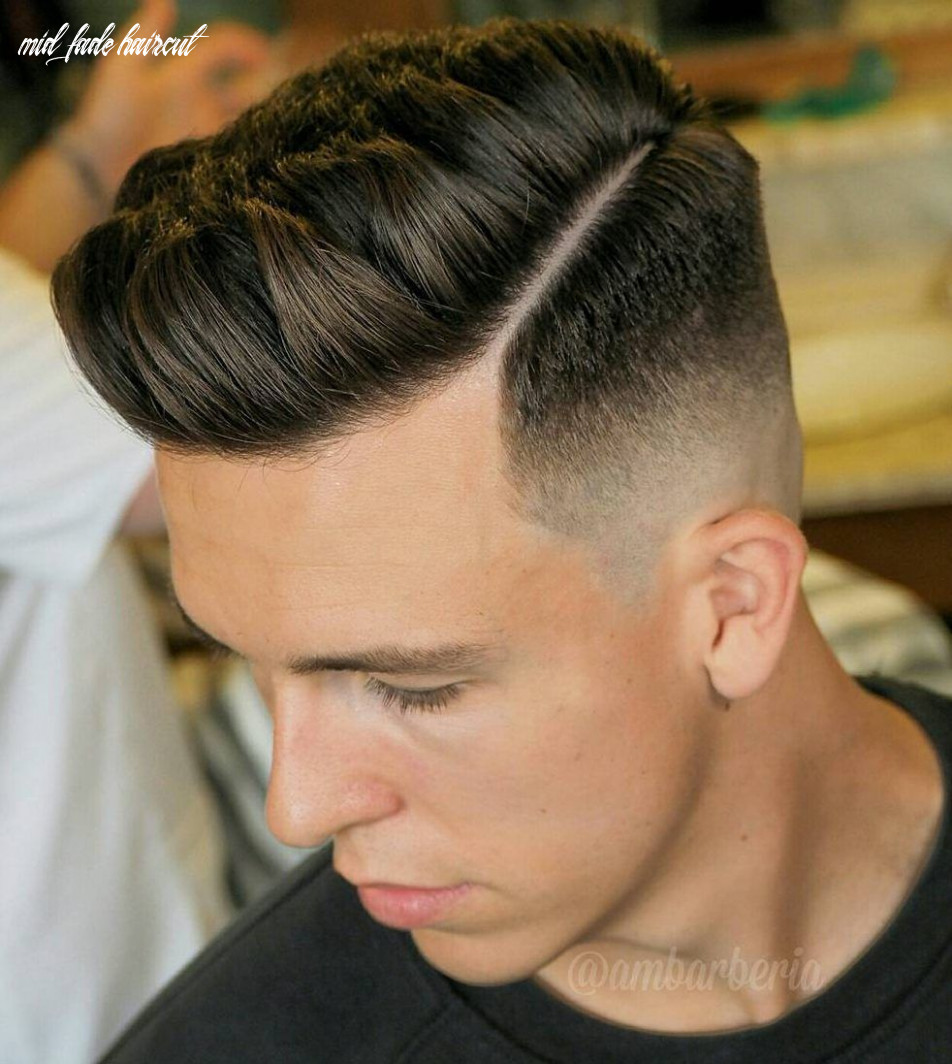 8 cool mid fade haircut styles to try right now   fade haircut