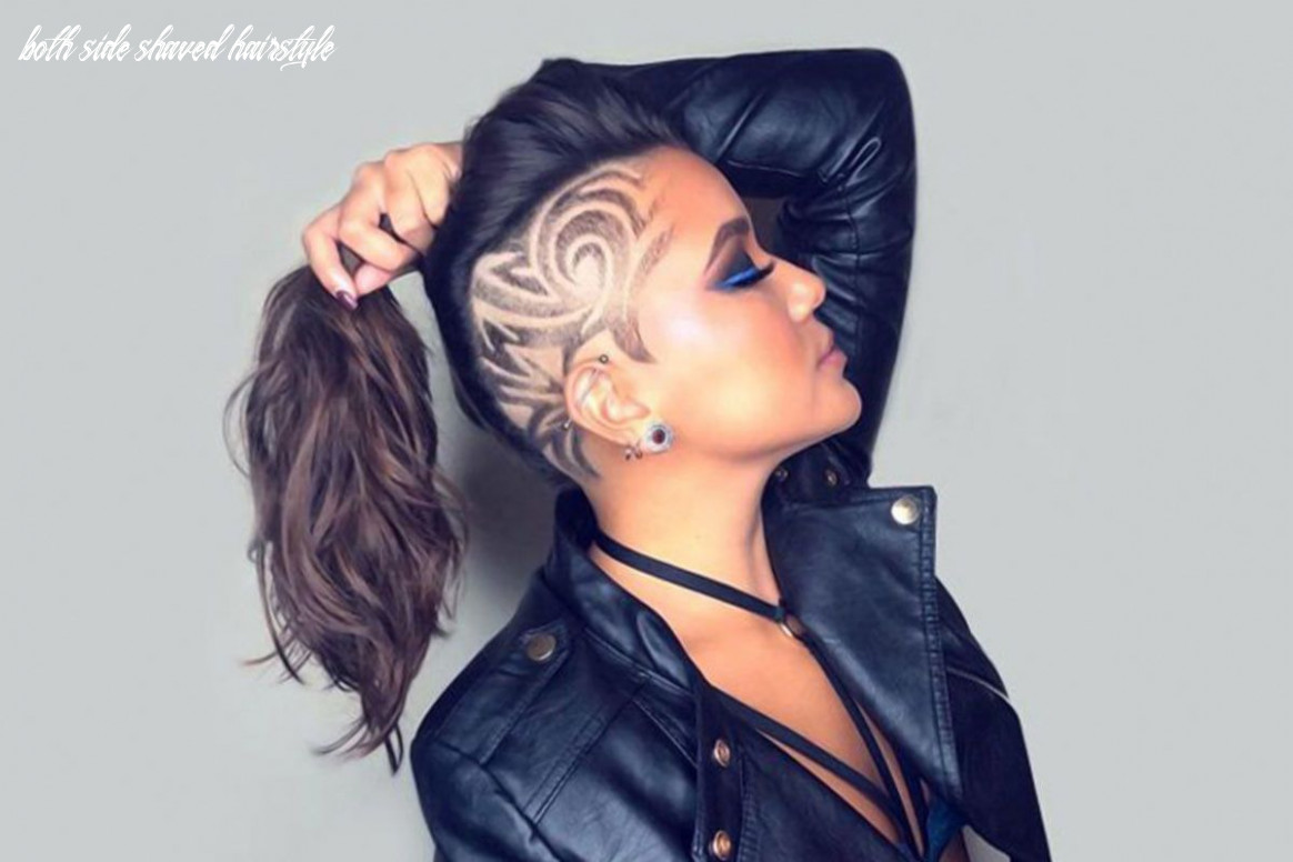 8 Cute & Rebellious Half Shaved Head Hairstyles For Modern Girls