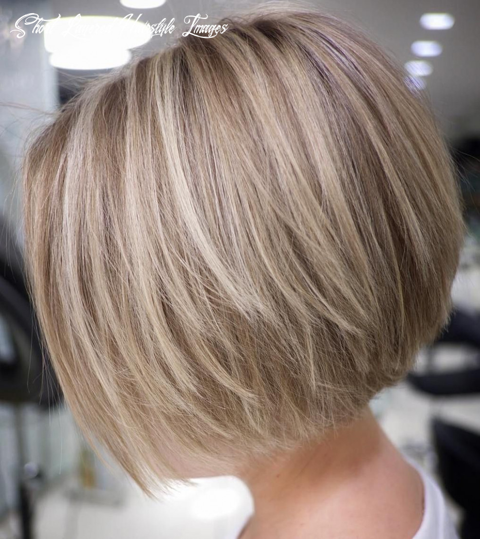 8 cute and easy to style short layered hairstyles | rövid frizura