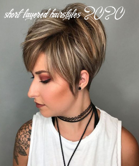 8 cute and easy to style with short layered hairstyles 8