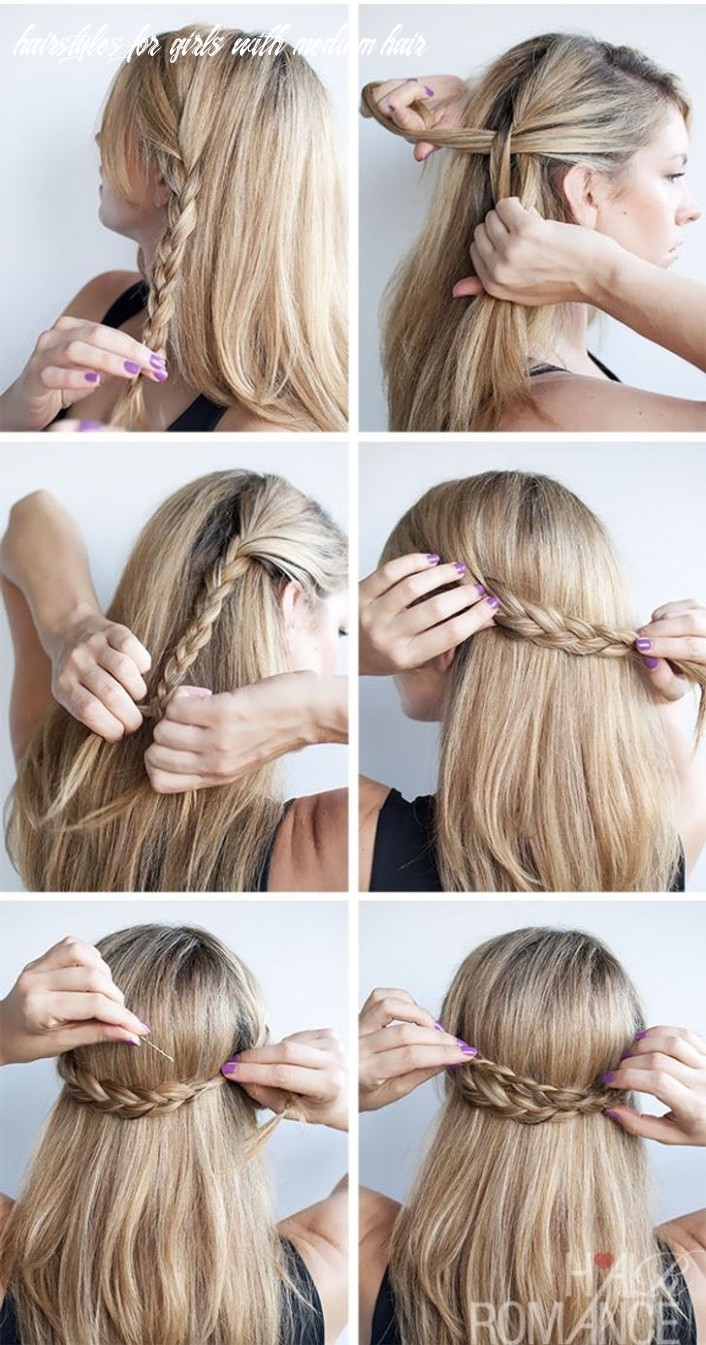 8 cute hairstyle ideas for medium-length hair
