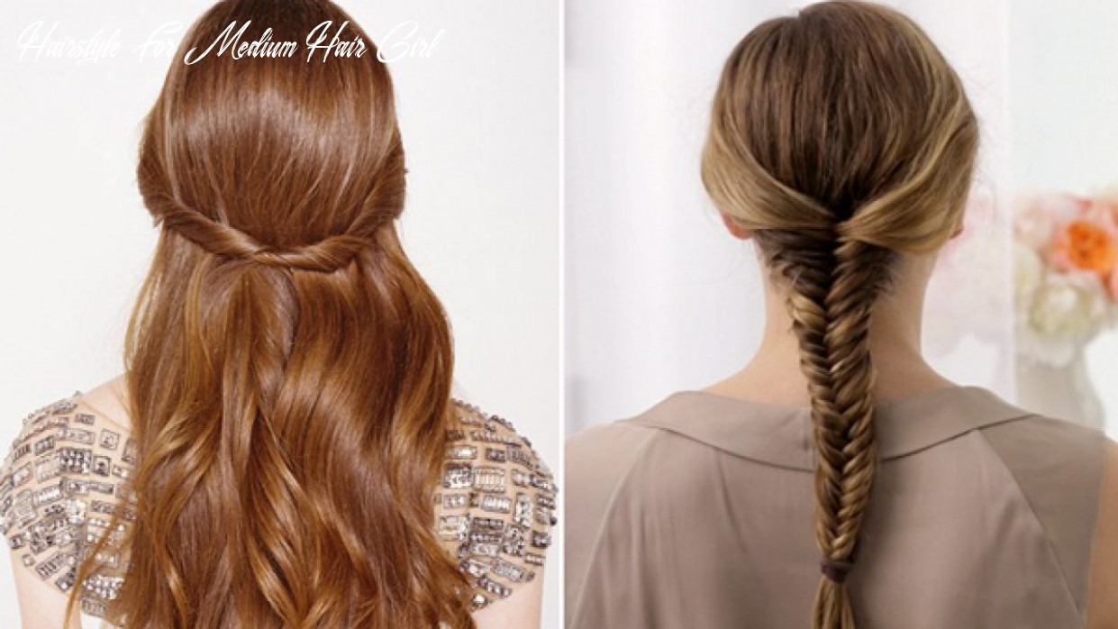 8 cute, nice and chic school hairstyles for medium hair | indian