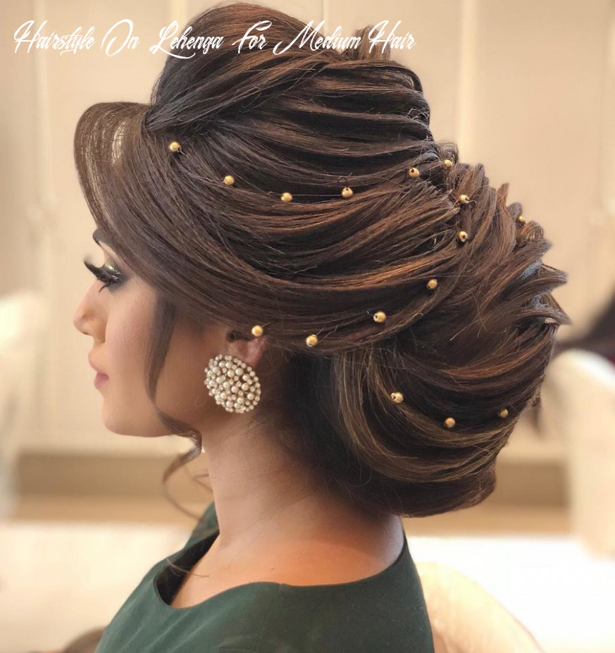 8 Drool-Worthy Bun Hairstyles for To-Be Brides | ShaadiSaga