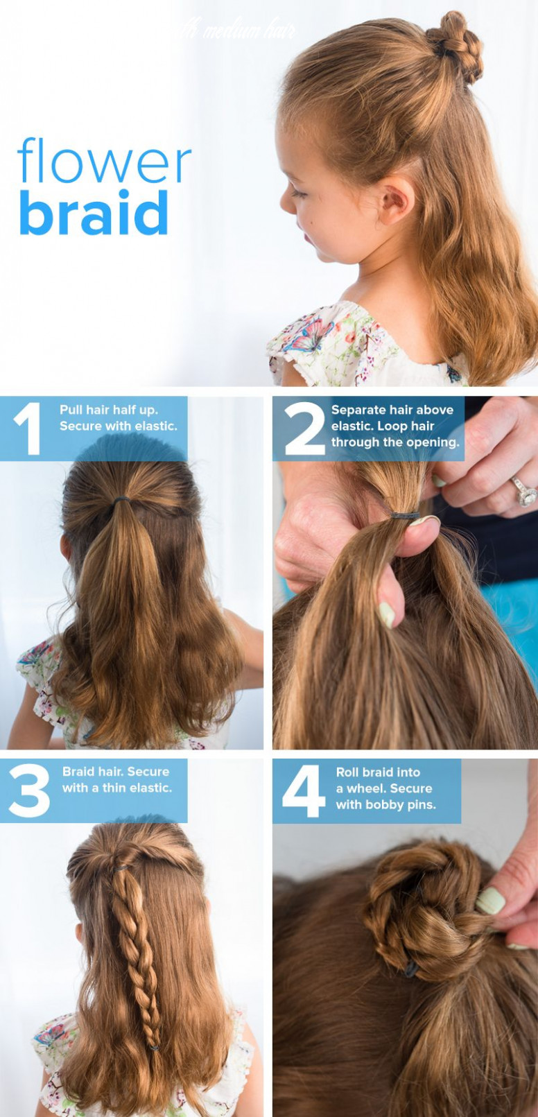 8 easy back to school hairstyles for girls | cute simple