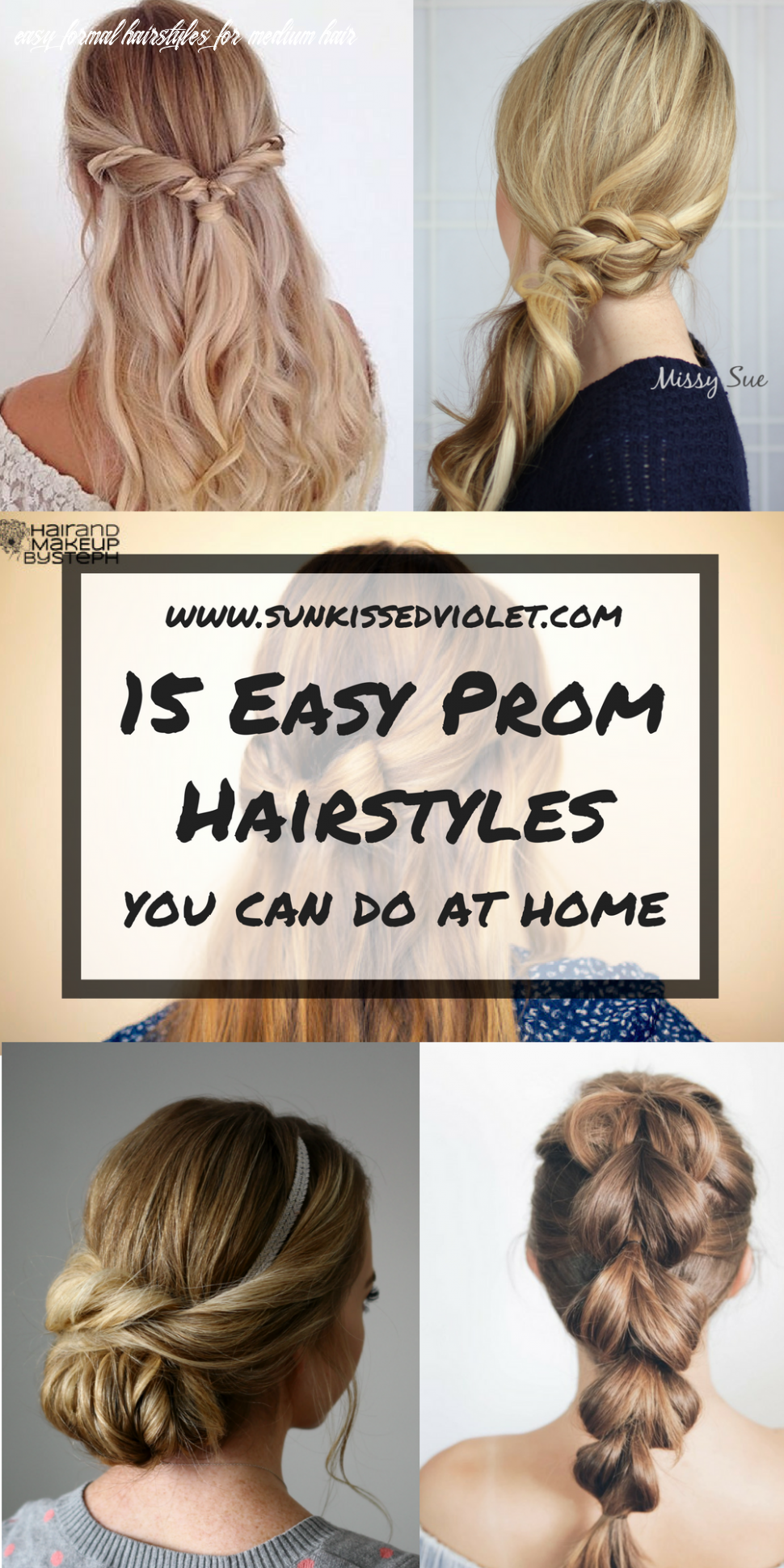 8 easy prom hairstyles for long hair you can diy at home | hair