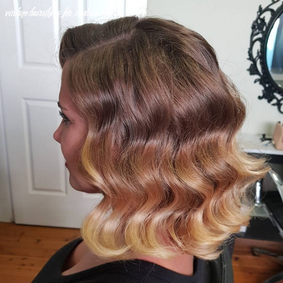 8 easy retro & vintage hairstyles to try this year vintage hairstyles for medium hair