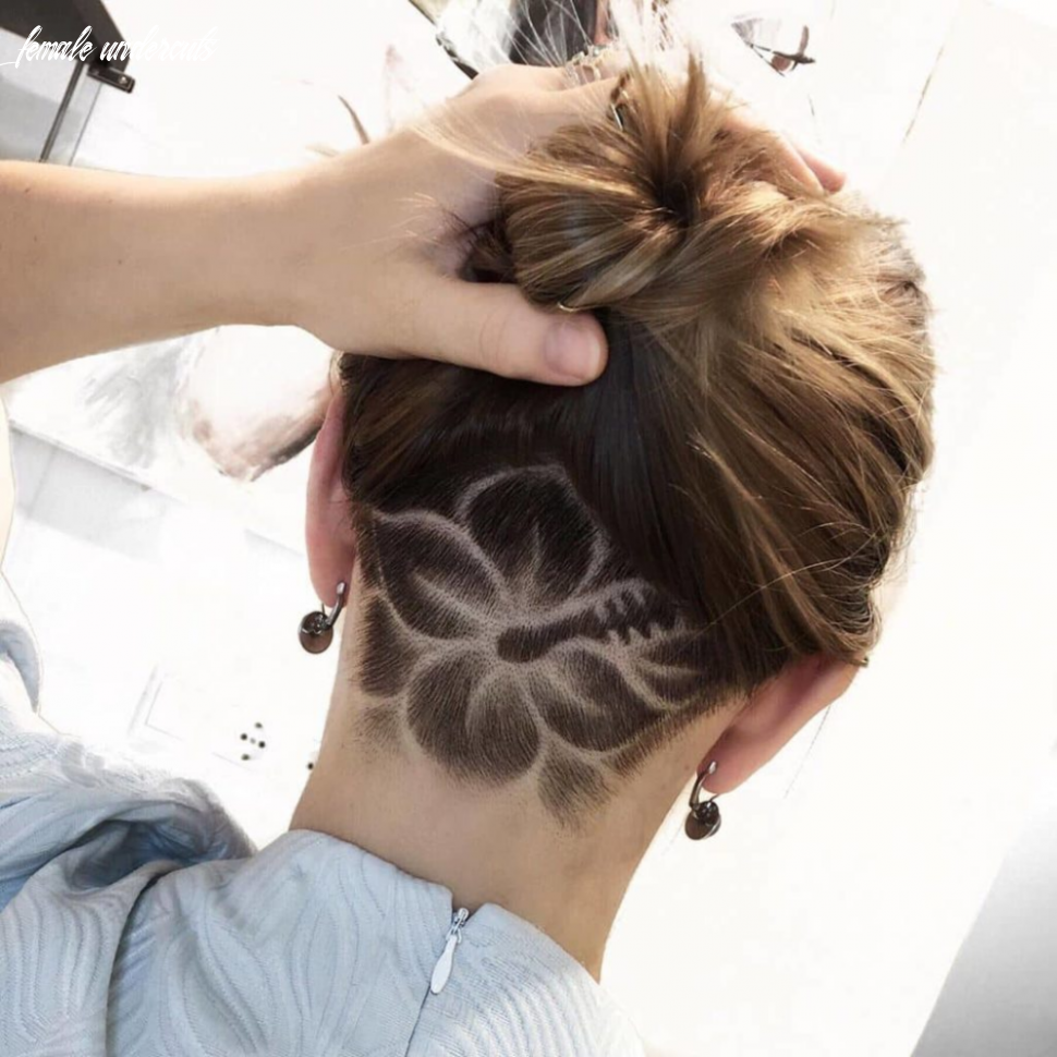 8 edgy and artistic female undercut designs bestcomely