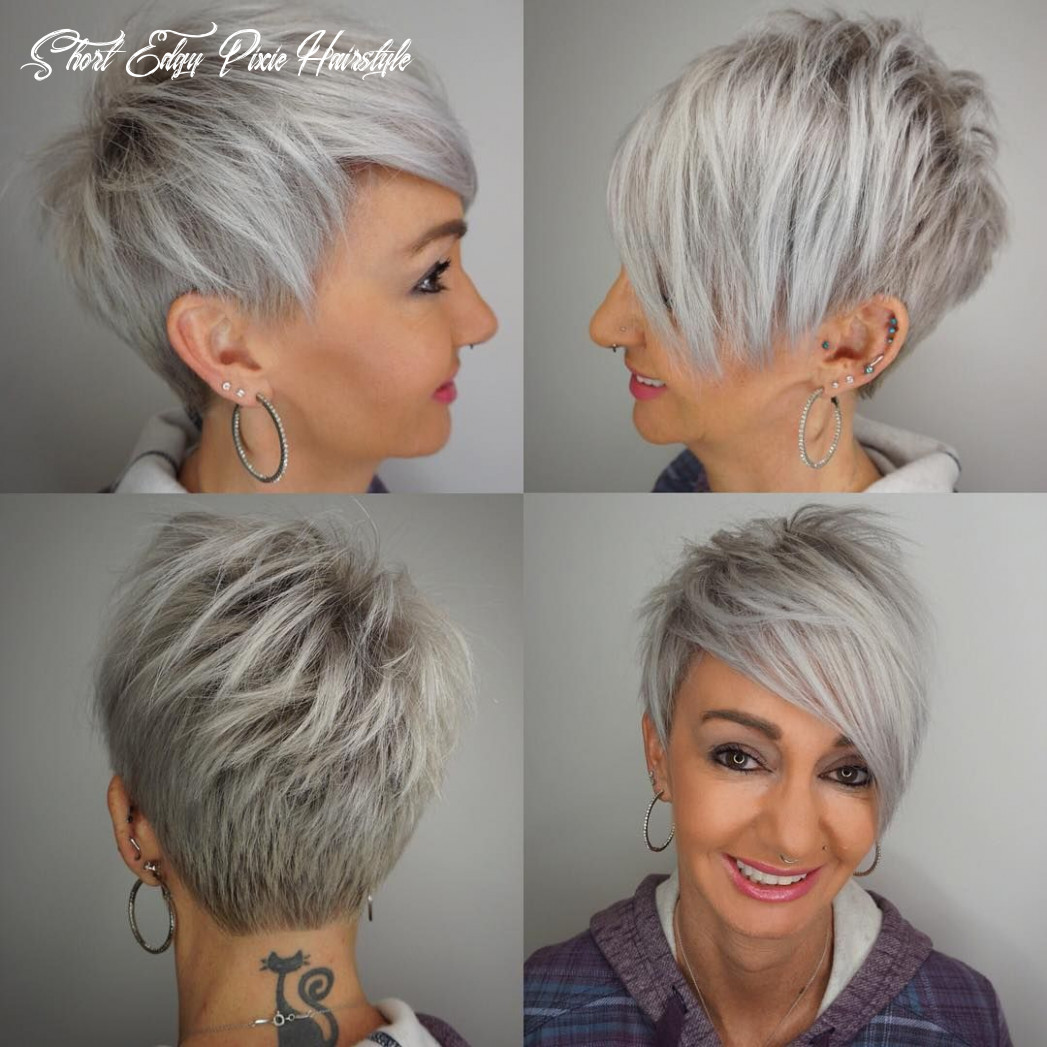 8 edgy pixie haircuts for women, best short hairstyles 8