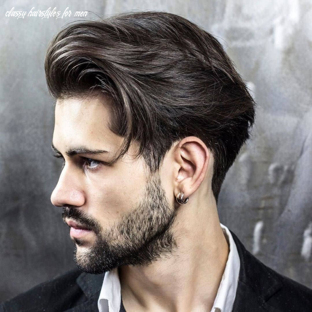 8 Elegant Medium Length Hairstyles for Men - HairstyleVill
