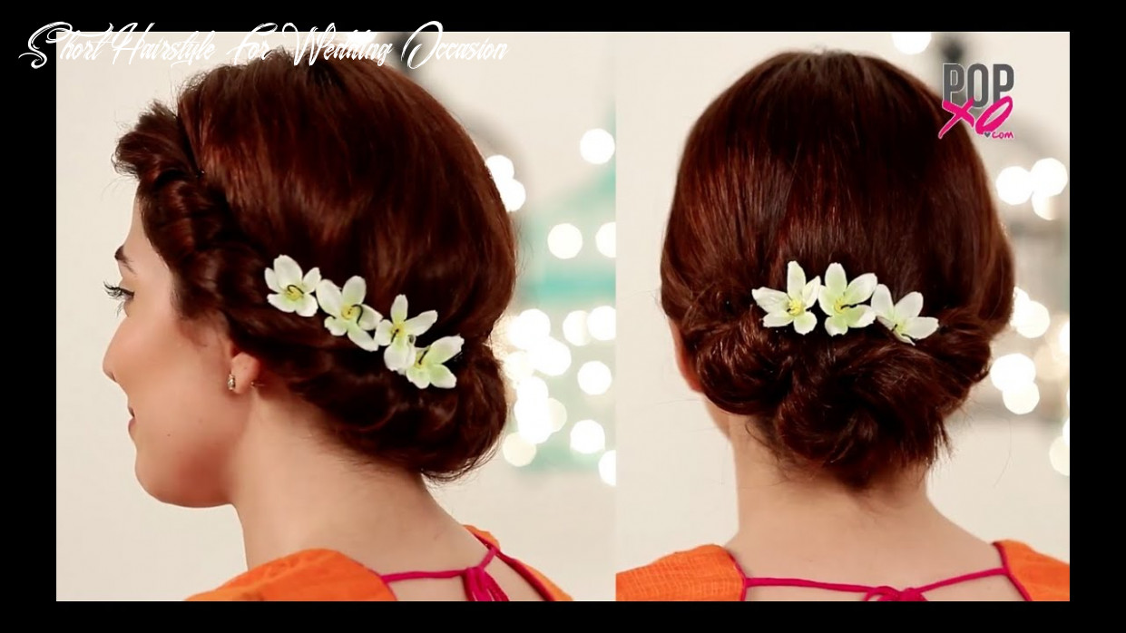 8 fab wedding hairstyles for short hair popxo shaadi short hairstyle for wedding occasion