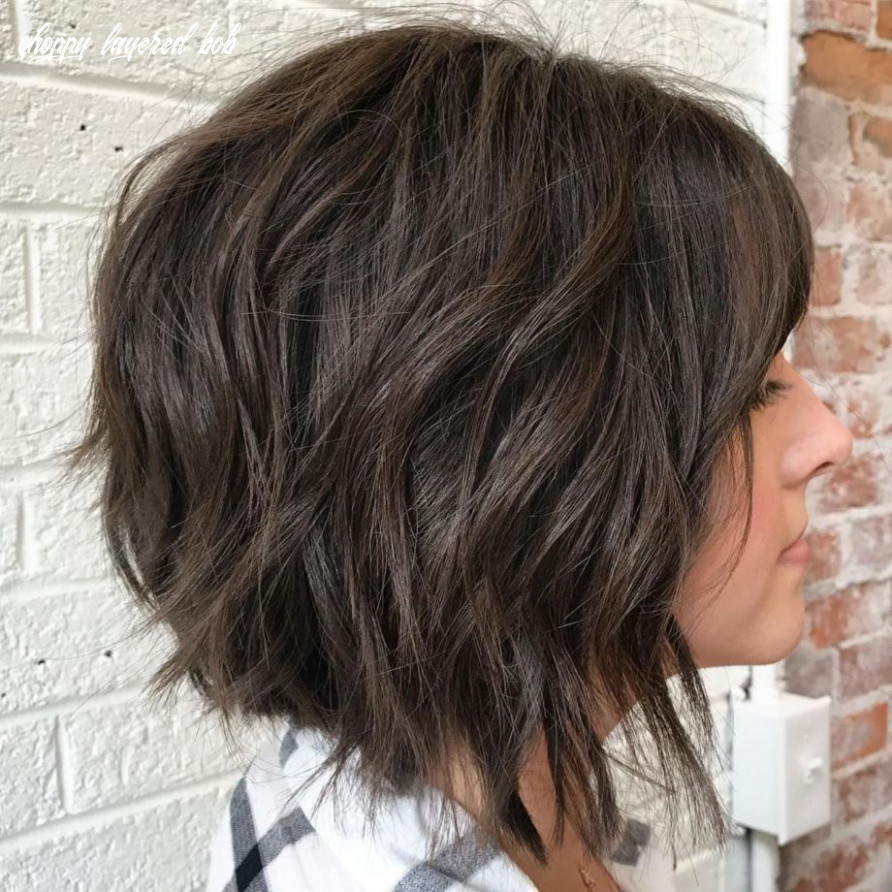 8 fabulous choppy bob hairstyles in 8 (with images) | choppy