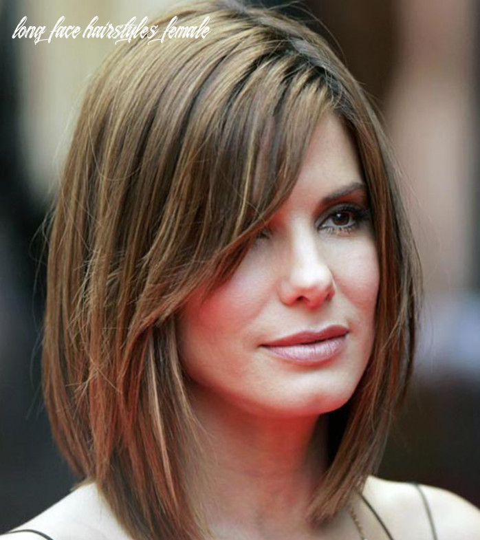 8 flattering hairstyles for long faces long face hairstyles female