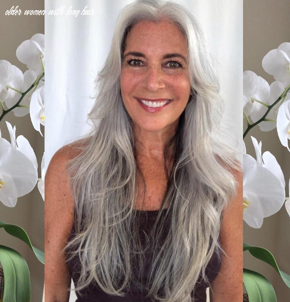 8 Glamorous Grey Hairstyles for Older Women - Haircuts ...