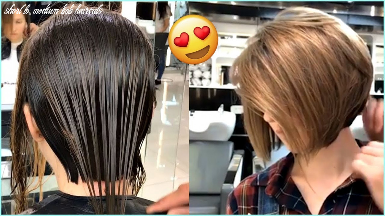 ♥️ 8 gorgeous short and medium bob haircuts ♥️ short to medium bob haircuts