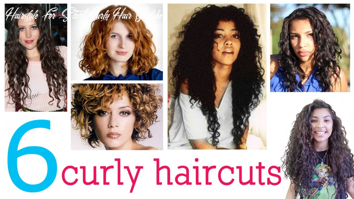 8 haircuts for curly hair hairstyle for short curly hair youtube
