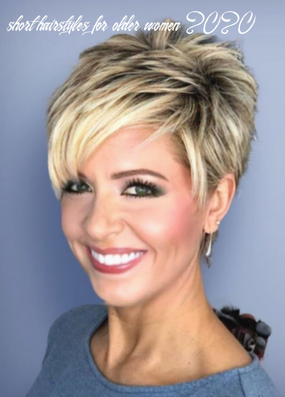 8 hairstyles short pixie older women in 8 | haircut for thick