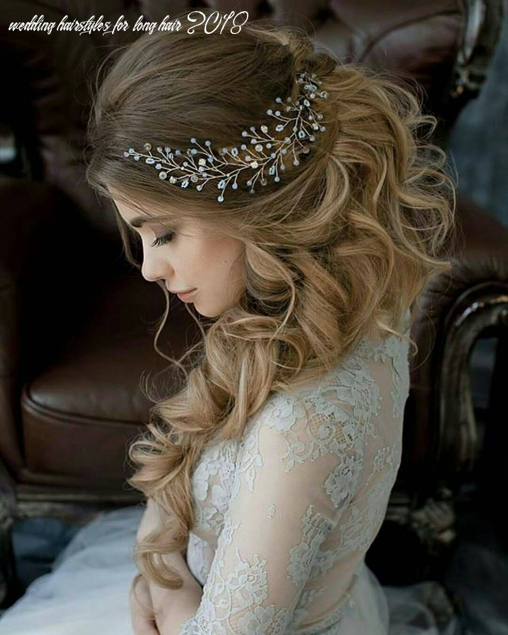 8 lavish wedding hairstyles for long hair wedding hairstyle
