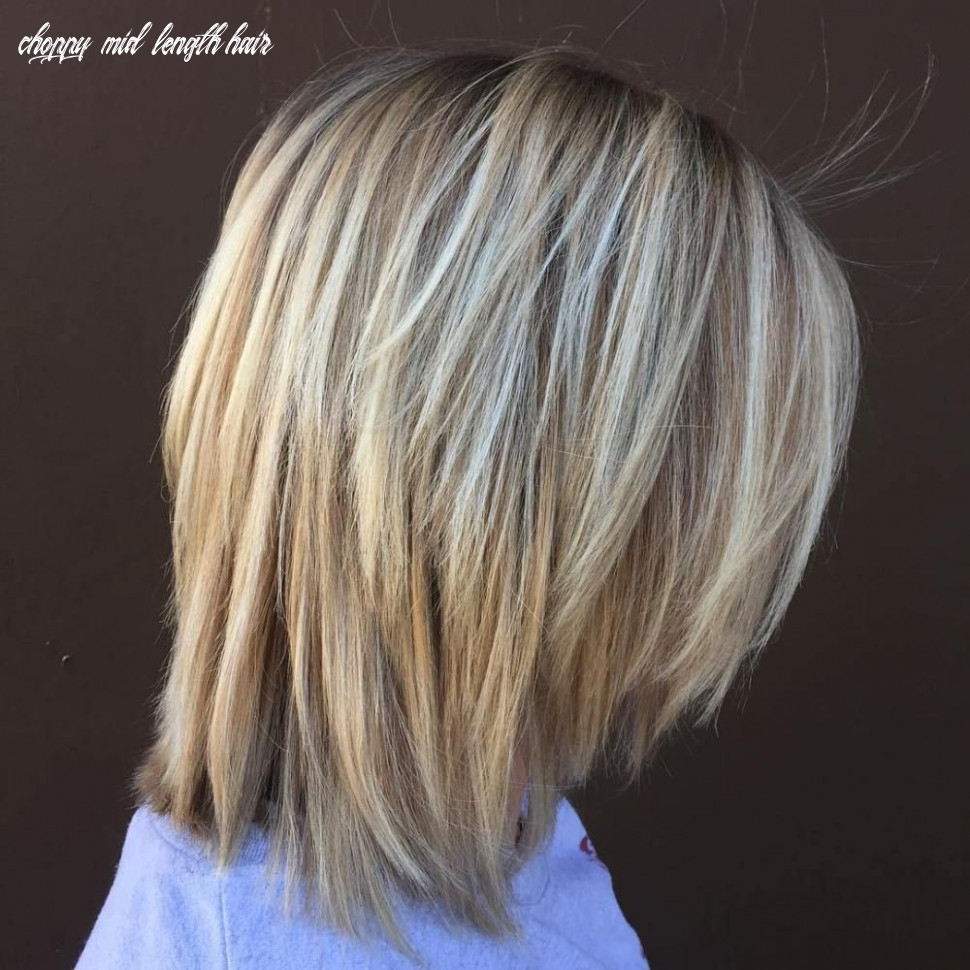 8 long choppy bob hairstyles for brunettes and blondes (with