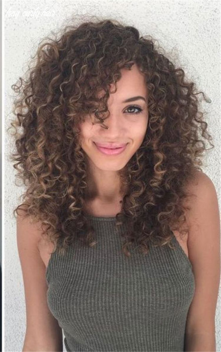 8 long curly hairstyles and colors 8 | lockige frisuren