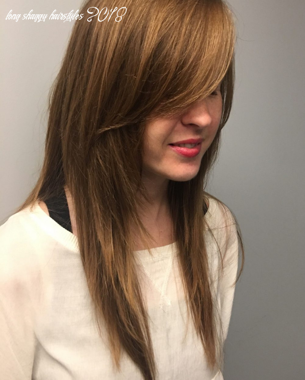 8 long shag haircuts trending right now long shaggy hairstyles 2018