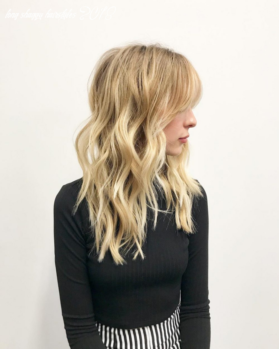 8 Long Shag Haircuts Trending Right Now