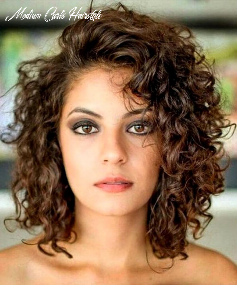 8 medium length curly hair styles | beattractive medium curls hairstyle
