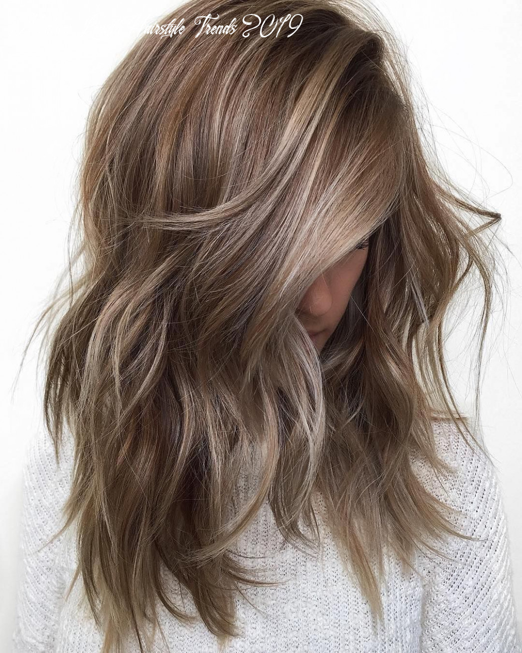 8 medium length hair color ideas 8 | dark blonde hair color