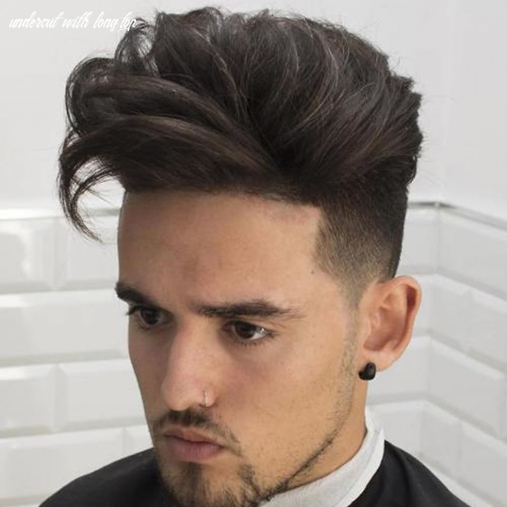 8 mens haircuts long top undercut for guys | www