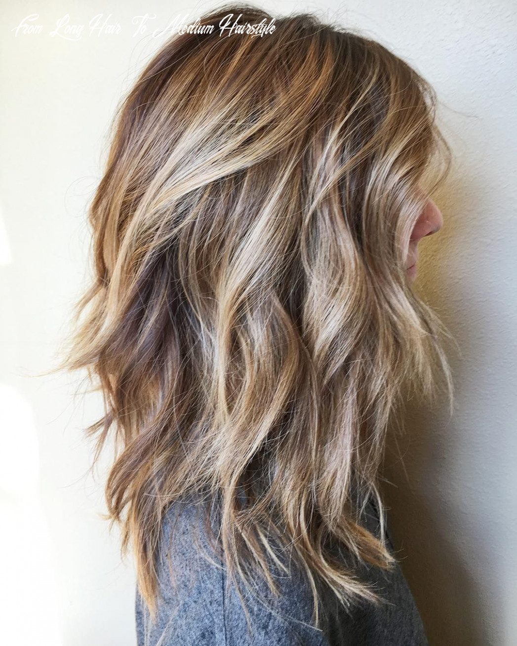 8 messy medium hairstyles for thick hair 8 | long hair styles