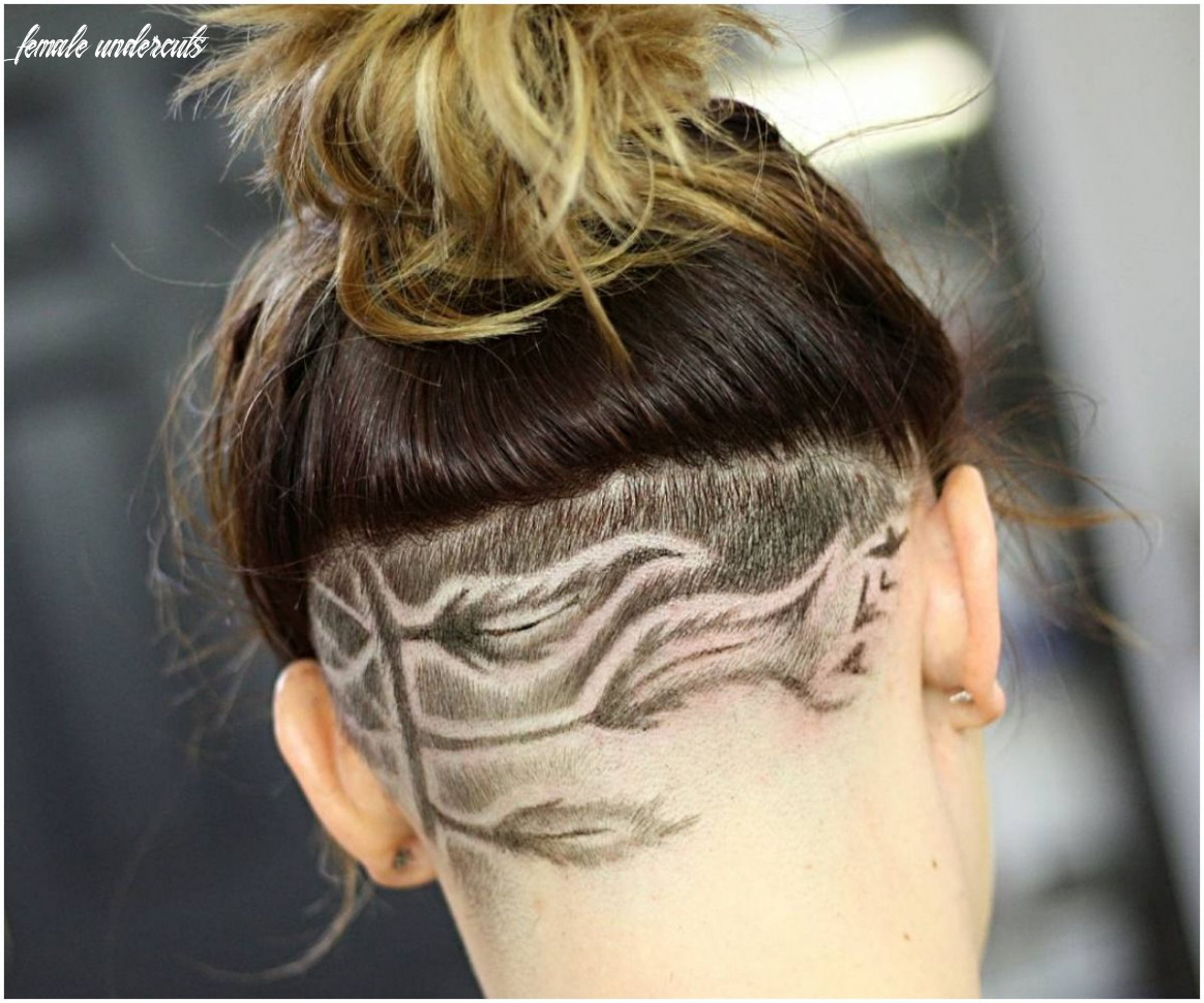8 most elegant undercuts haircuts & hairstyles for female