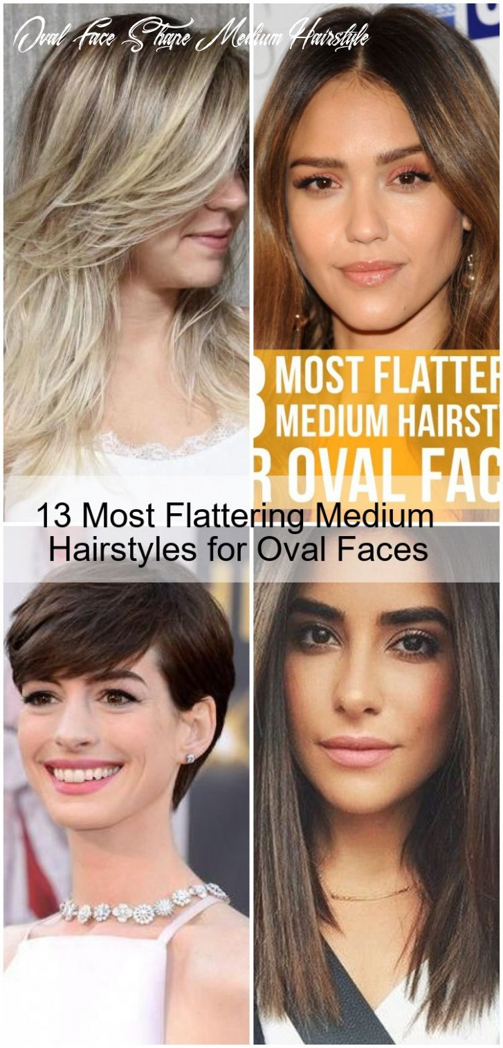 8 most flattering medium hairstyles for oval faces , #faces