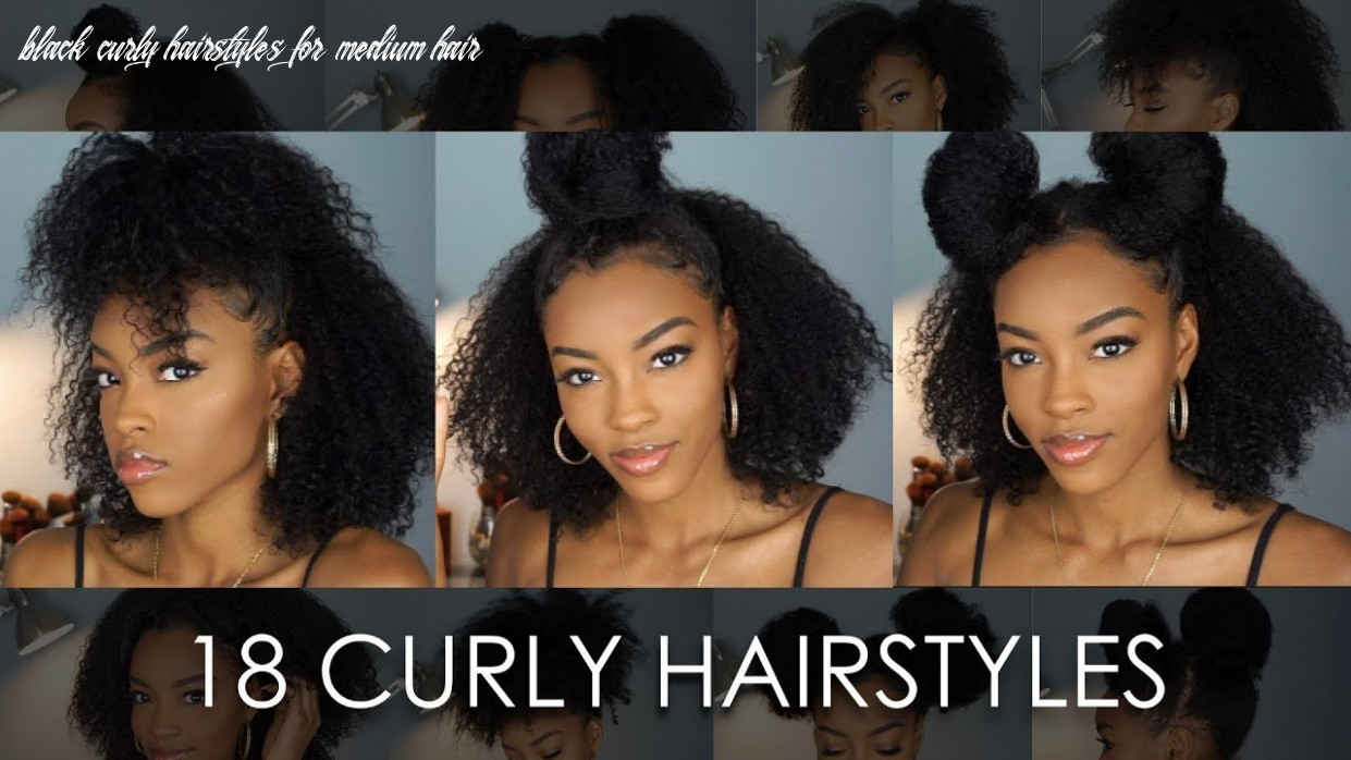8 natural hairstyles for curly hair   slim reshae black curly hairstyles for medium hair