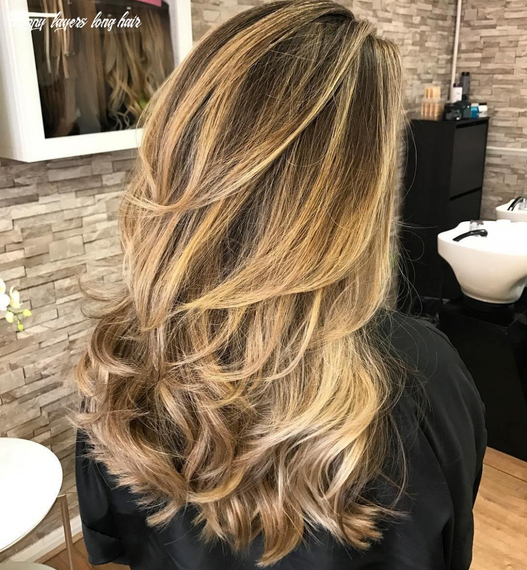 8 new long hairstyles with layers for 8 hair adviser choppy layers long hair