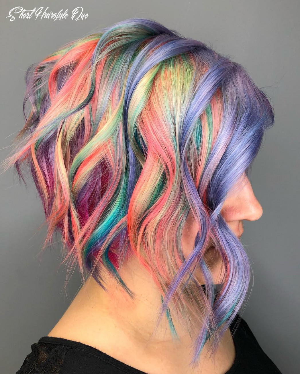 8 of the most beautiful short hairstyles with pastel colors short hairstyle dye