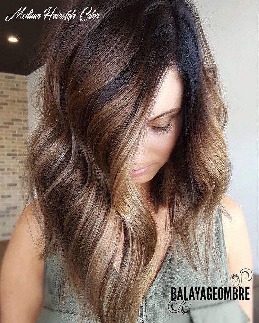 8 ombre balayage hairstyles for medium length hair, hair color