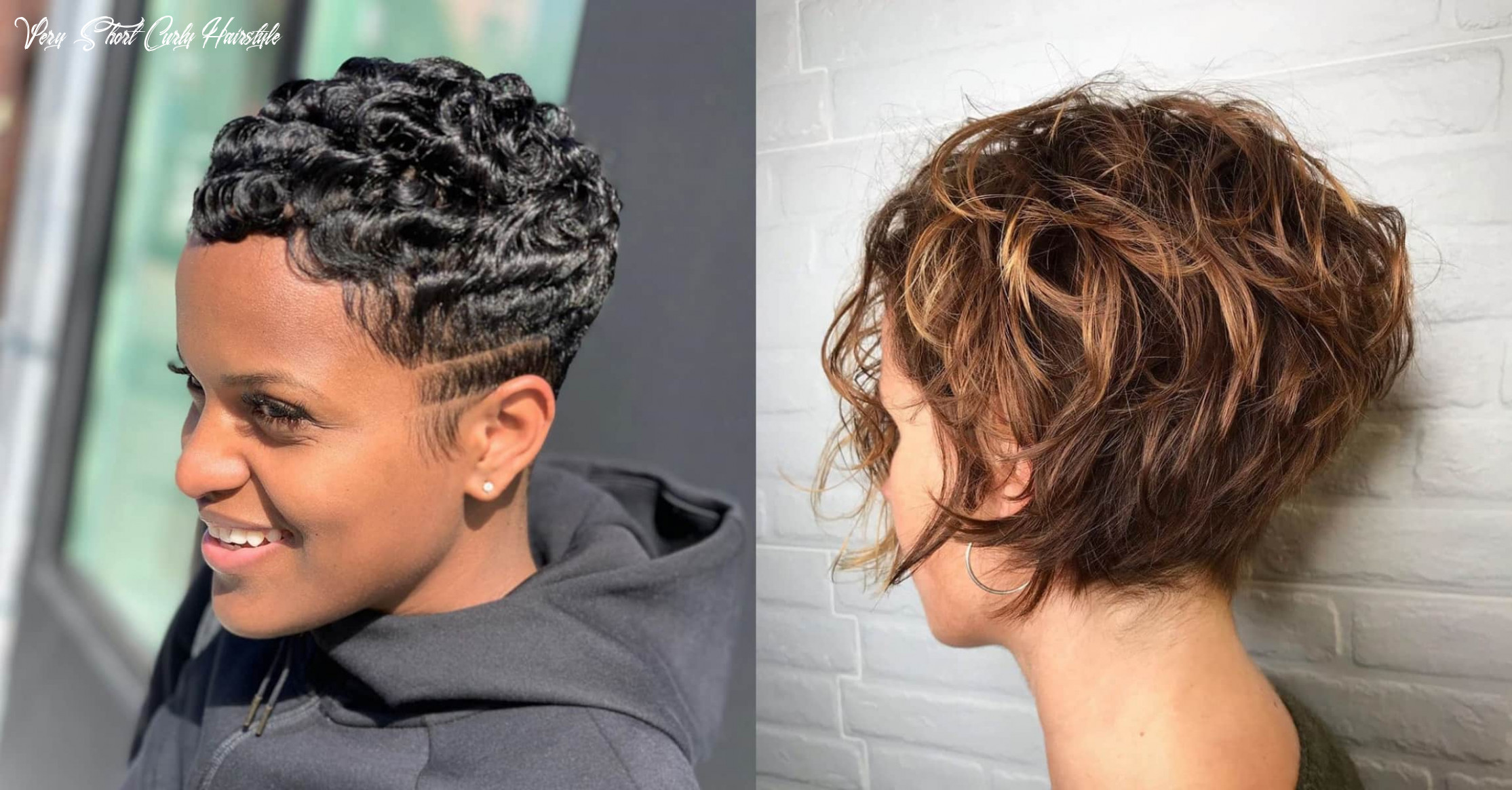 8 perfect looks for short curly hair | stylesrant very short curly hairstyle