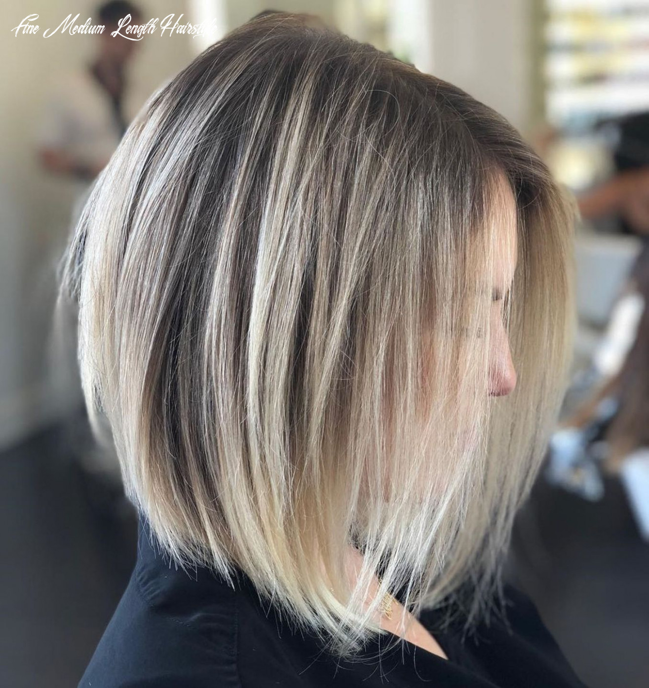 8 perfect medium length hairstyles for thin hair (with images