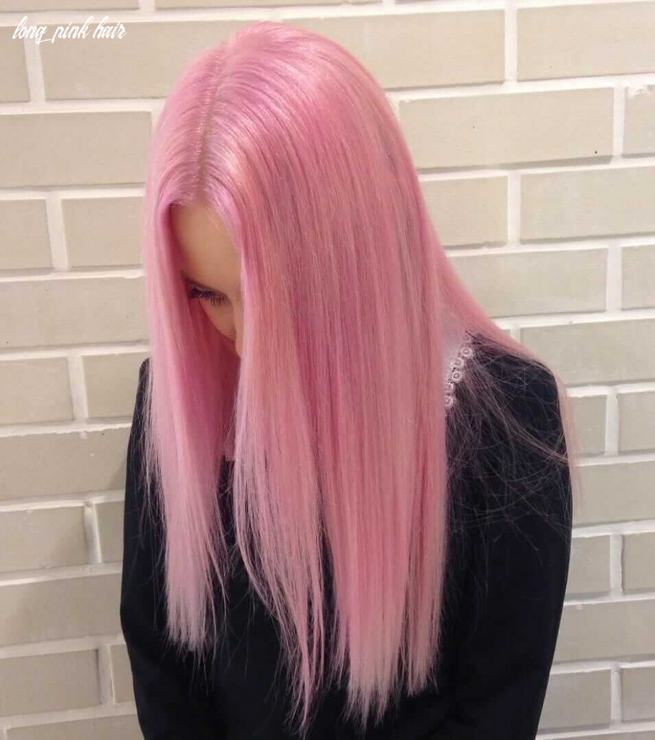 8 pink hair ideas you need to see page 8 of 8 ninja cosmico long pink hair