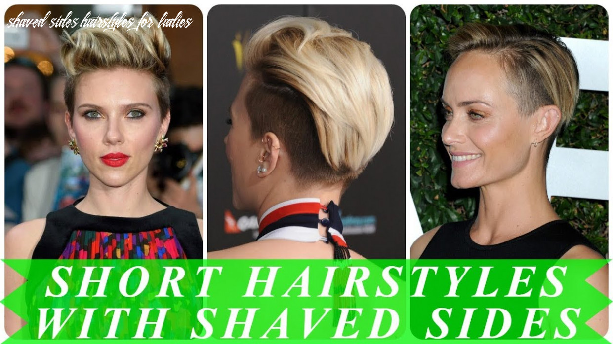 8 popular ideas for womens short shaved sides hairstyles 818 ...