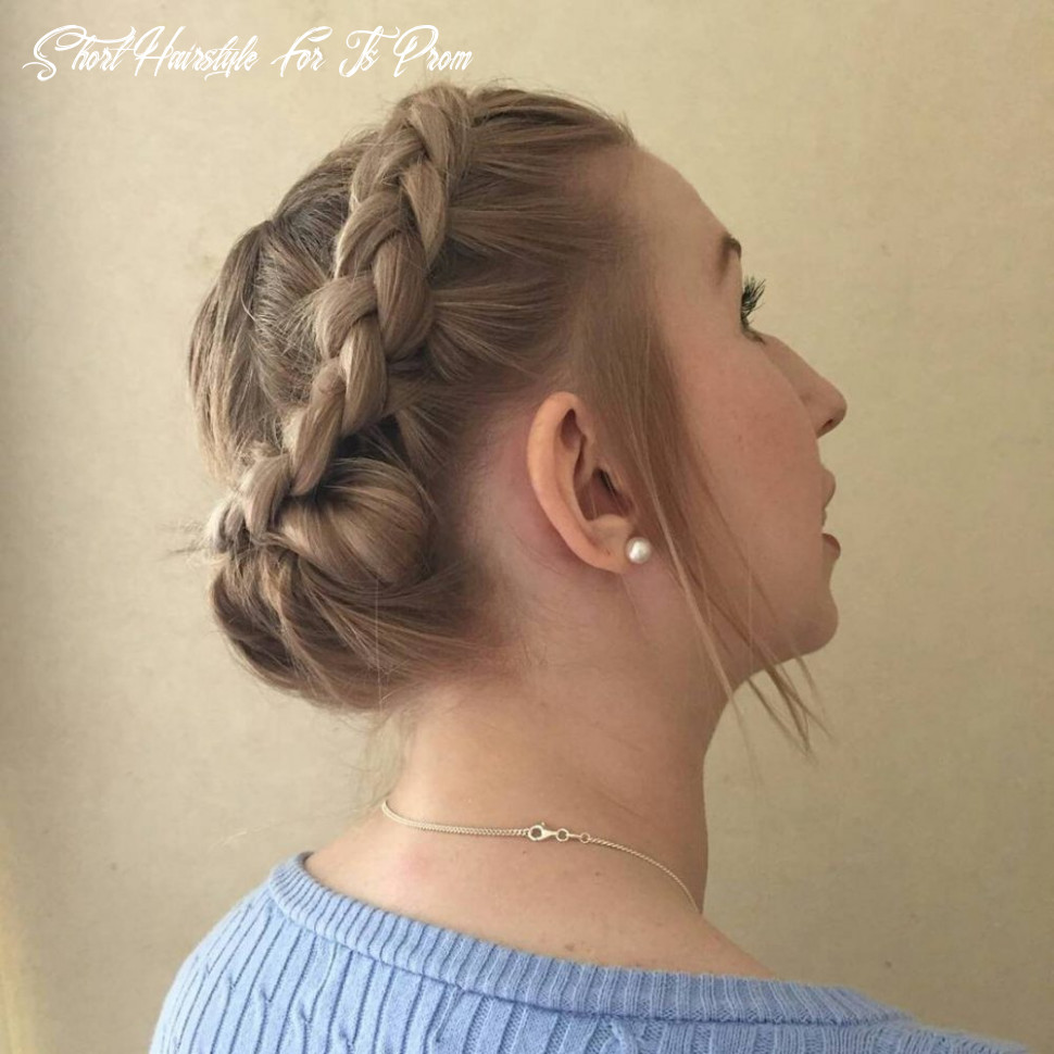 8 prom hairstyle for short hair in 8 is here ( 87 more) short hairstyle for js prom