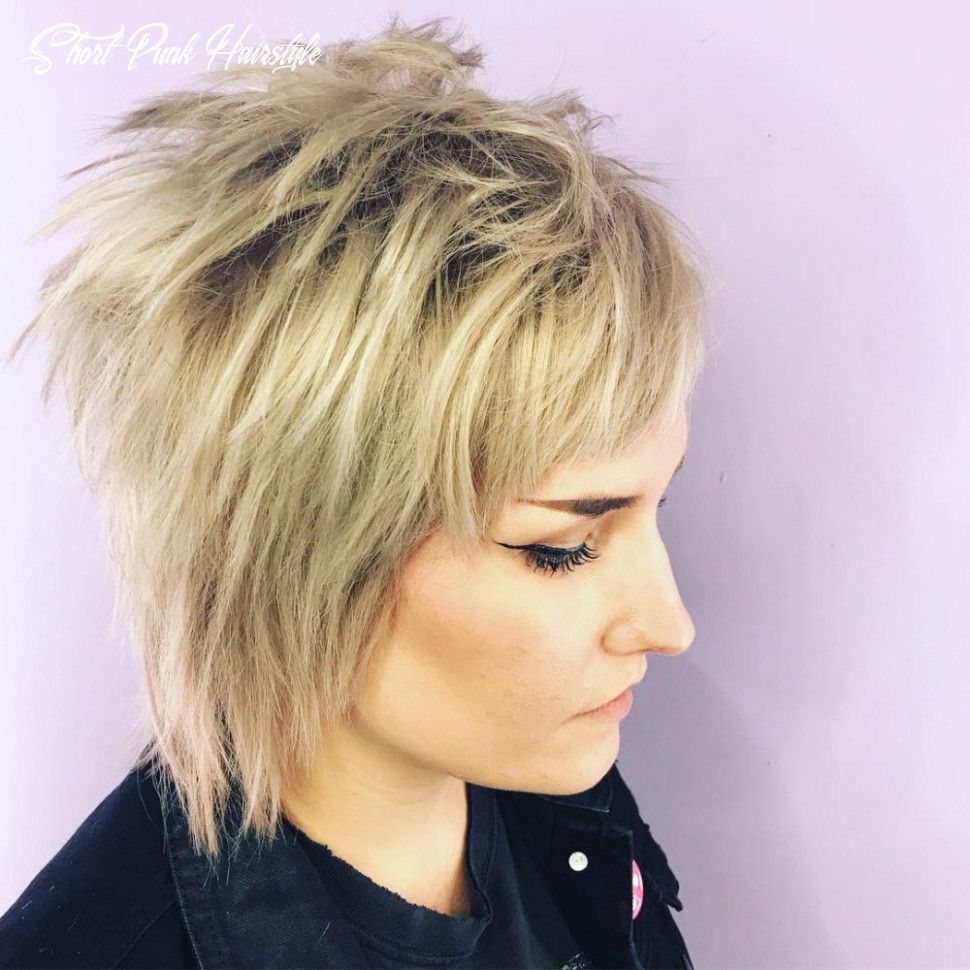 8 punk hairstyles for women (trending in 8) short punk hairstyle